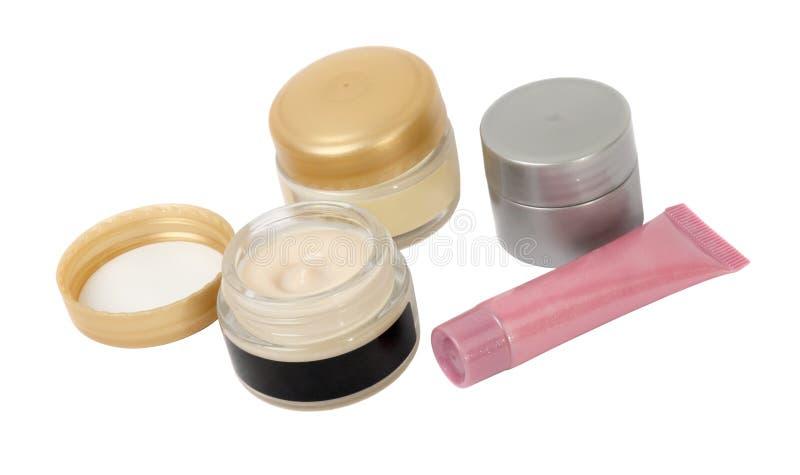 Crème de produits de beauté photo stock