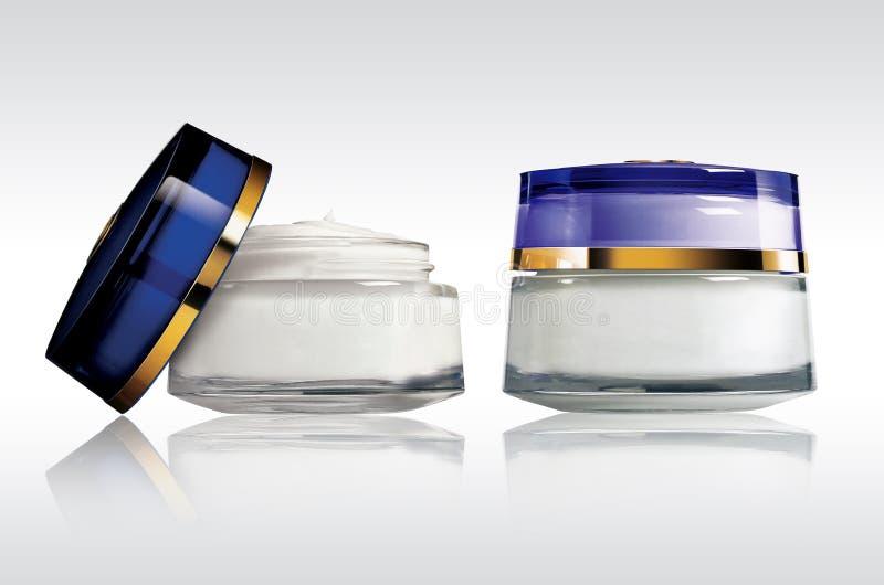 Crème de produits de beauté photographie stock