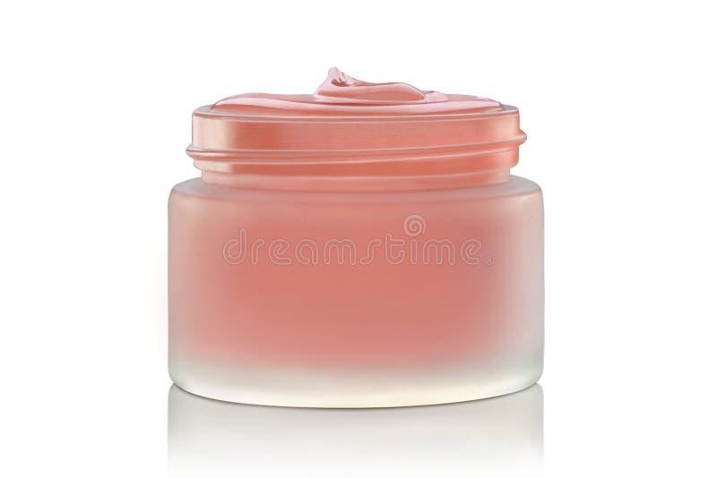 Crème de visage cosmétique de luxe photo stock