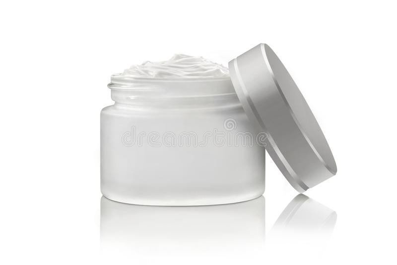 Crème de visage cosmétique de luxe image libre de droits