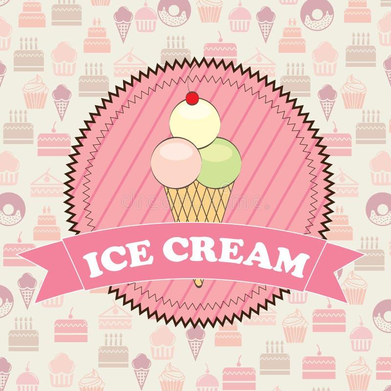 Crème glacée  illustration libre de droits