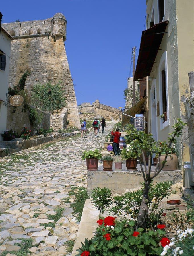 CRÈTE, Rethymnon photos libres de droits