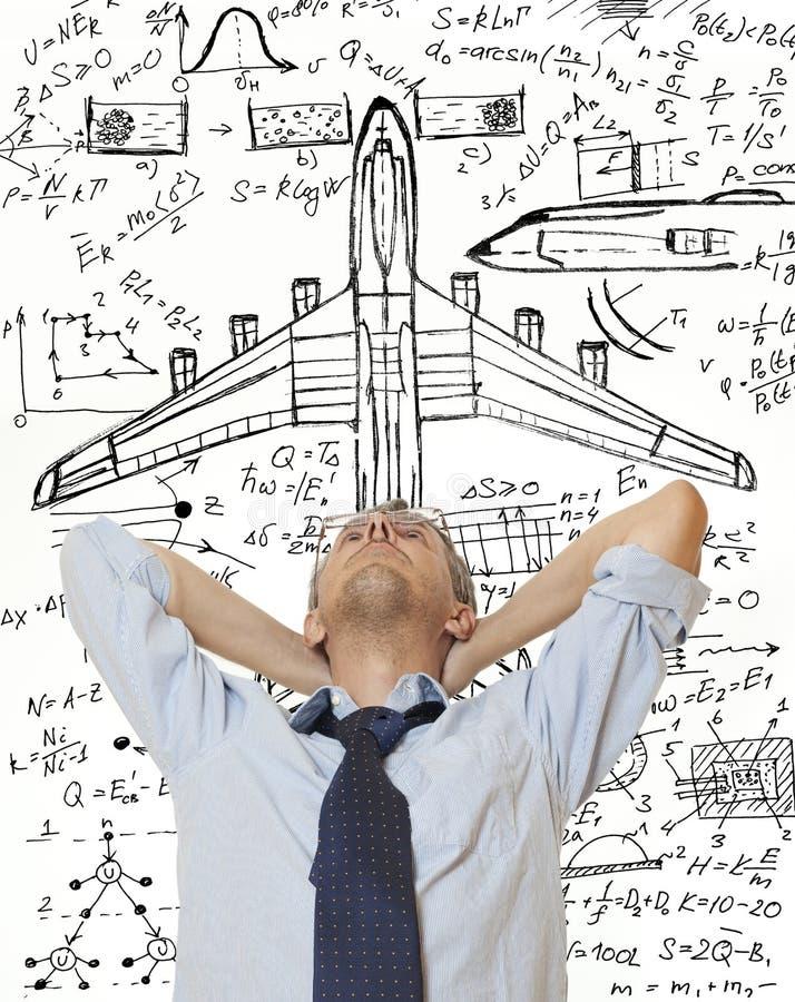 Créateur d'avion photos stock