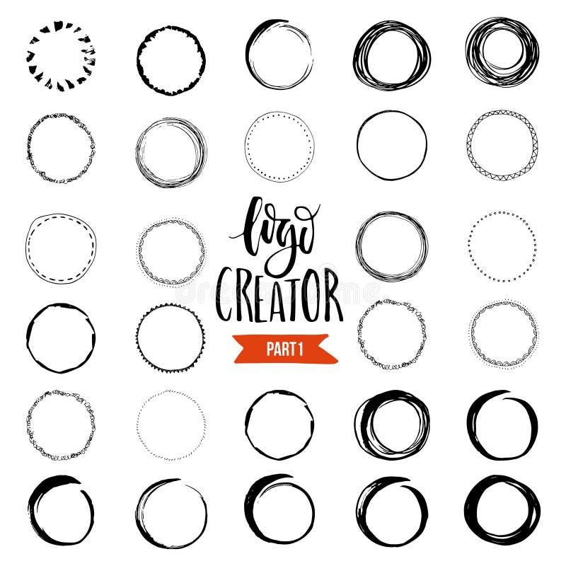 Créateur de logo illustration stock