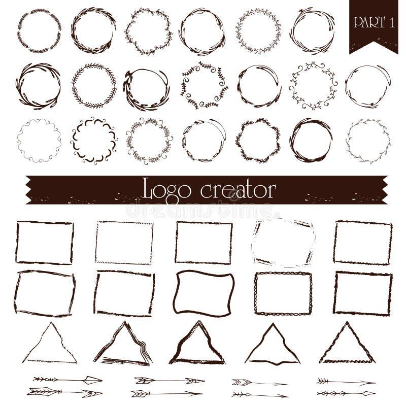 Créateur de logo illustration de vecteur