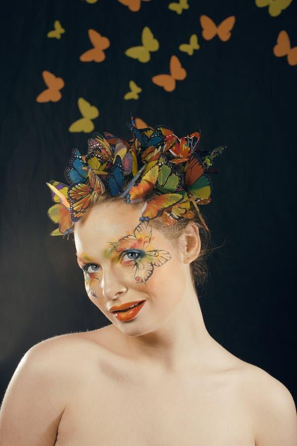 Créatif composez comme le papillon photo libre de droits