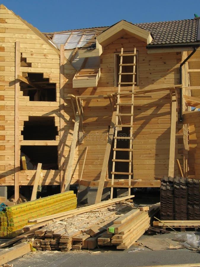 Création d'une nouvelle maison image libre de droits
