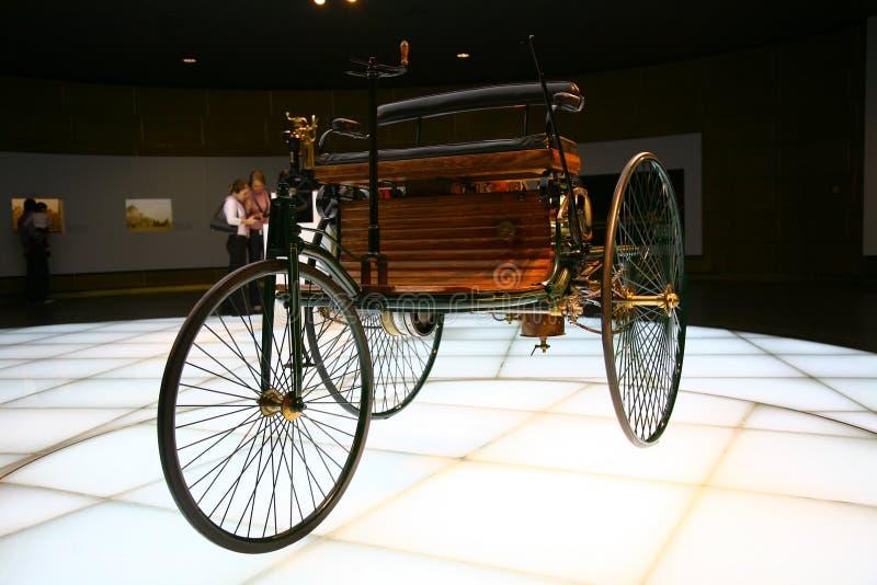 Création de véhicule de Gottlieb Daimler photographie stock libre de droits