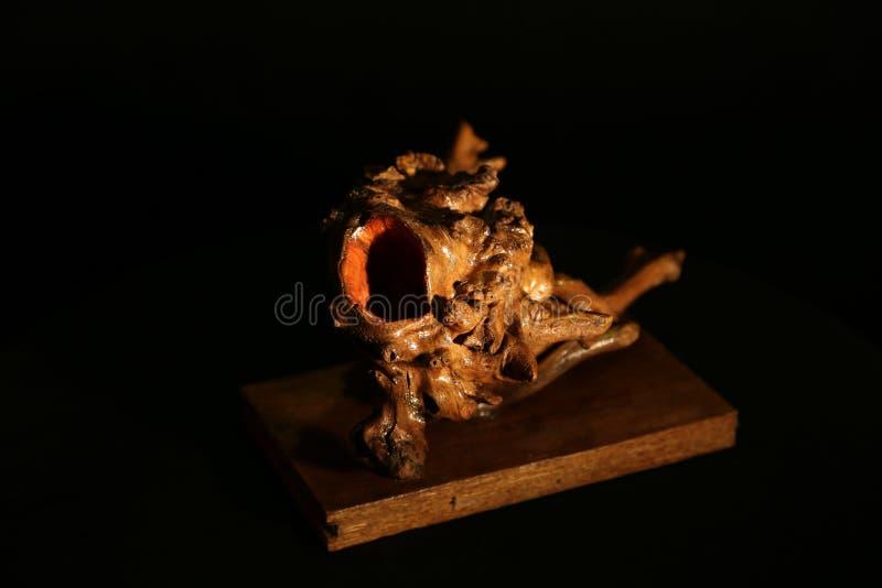 Création en bois photographie stock libre de droits