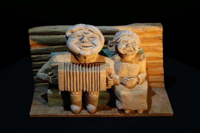 Création en bois image stock