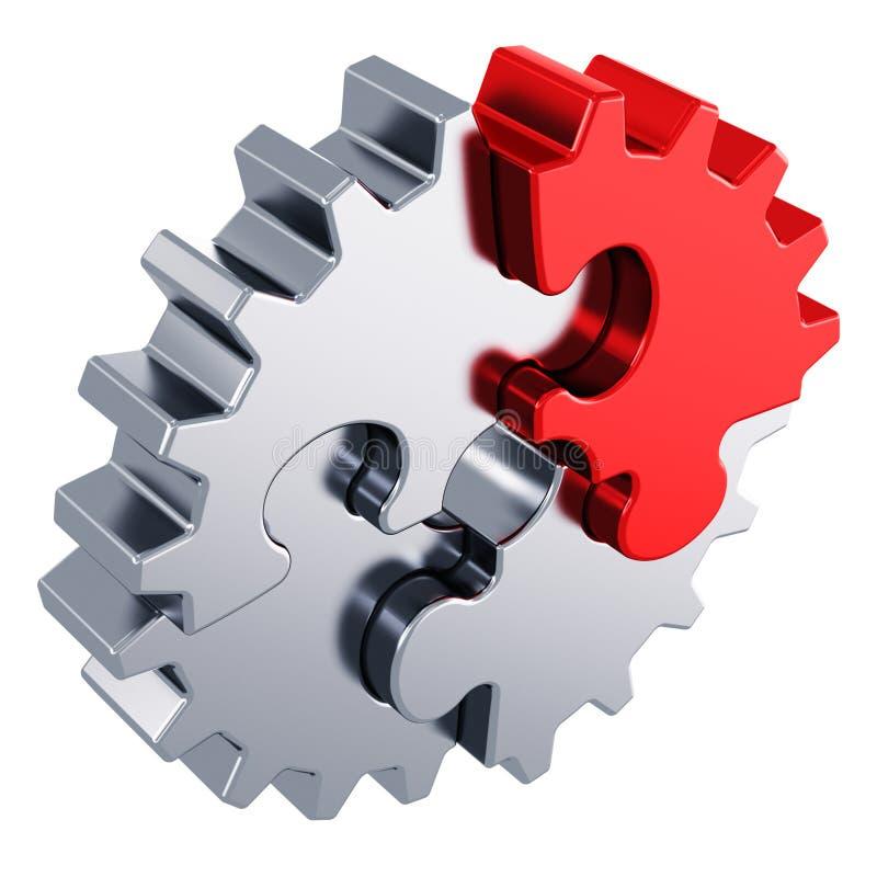 Créativité d'affaires et concept de succès illustration de vecteur