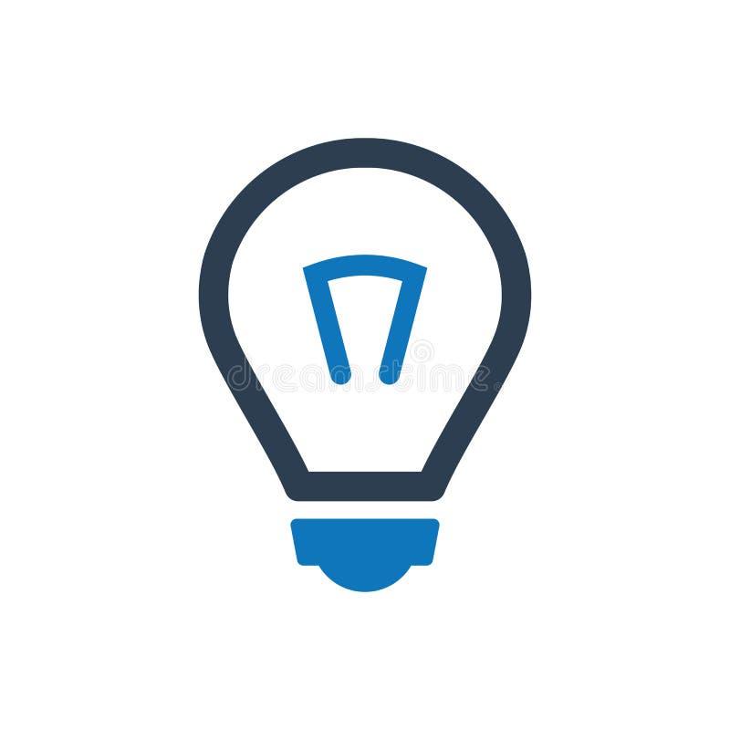 Créativité, icône d'idée illustration libre de droits