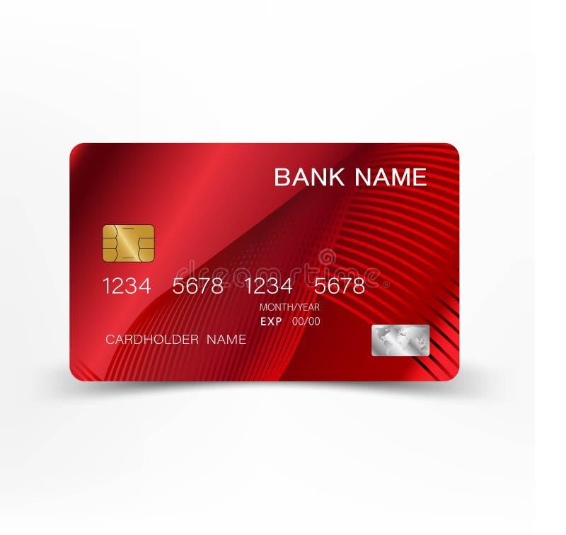 Crédito card635 ilustração do vetor