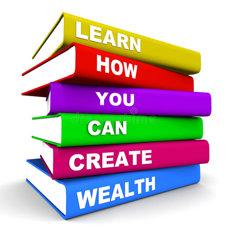 Créez la richesse illustration de vecteur