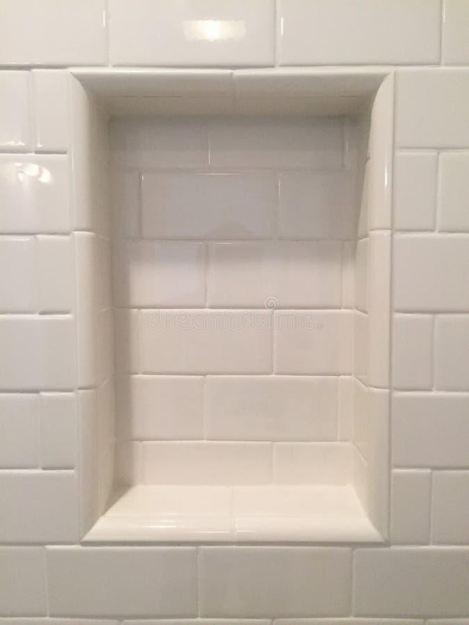 Créneau de shampooing de douche photographie stock