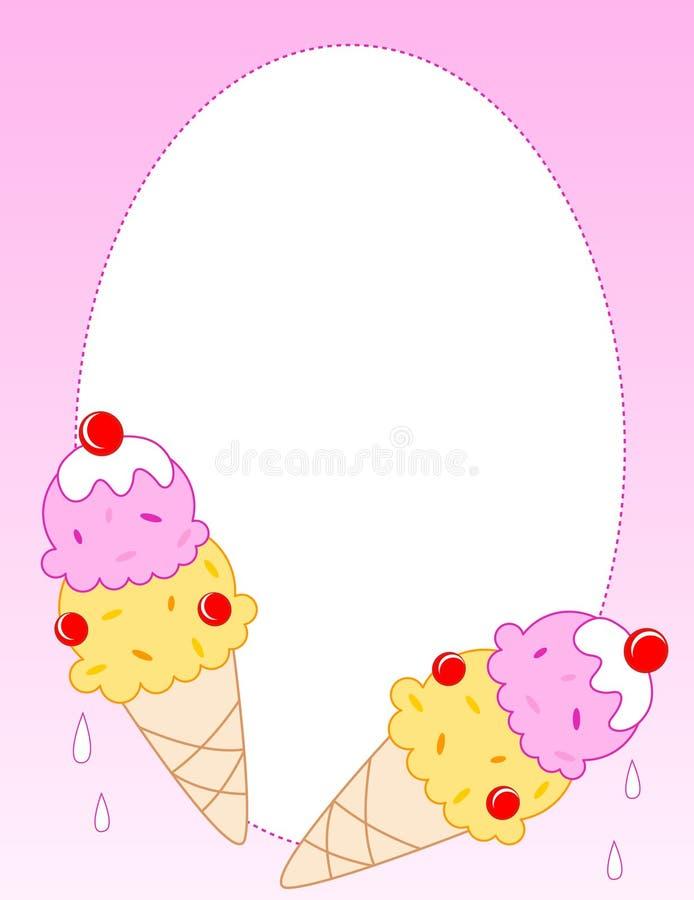Crême glacée illustration stock