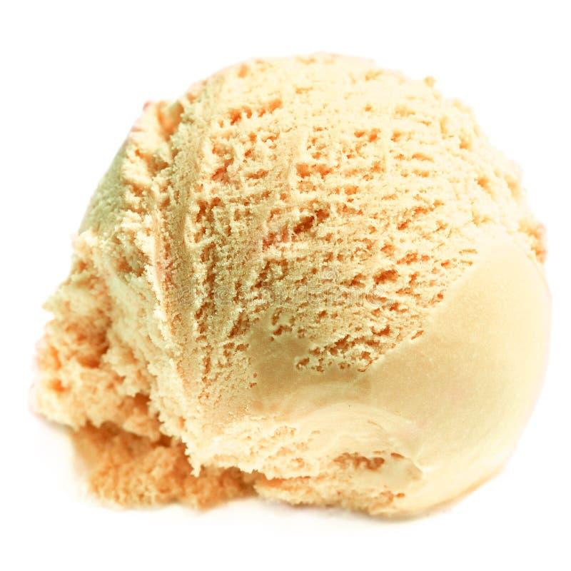 Crême glacée Boule de glace de tiramisu image stock