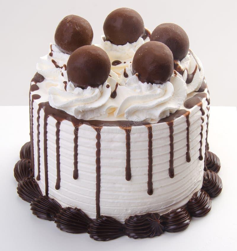 Crême glacée gâteau de crème glacée de chocolat image stock