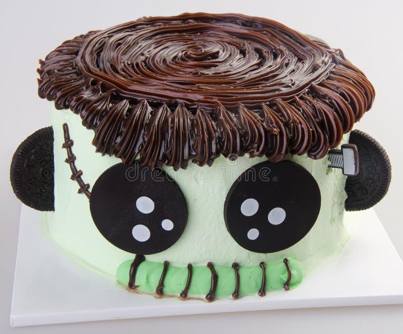 Crême glacée gâteau de crème glacée de chocolat images libres de droits