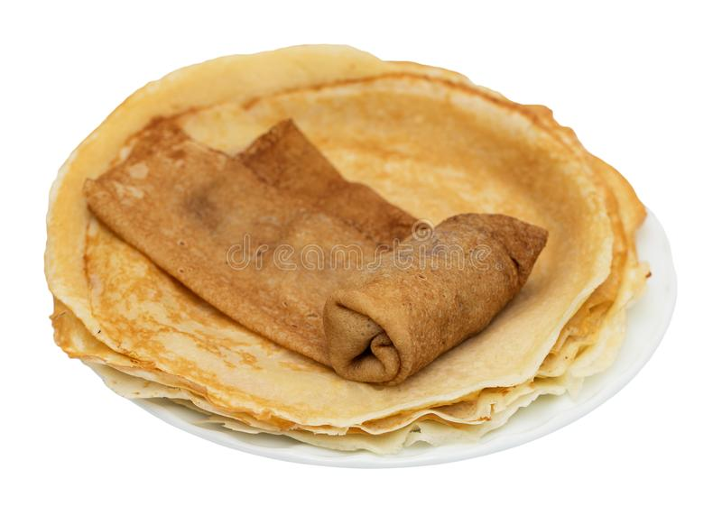 Crêpes russes photo libre de droits