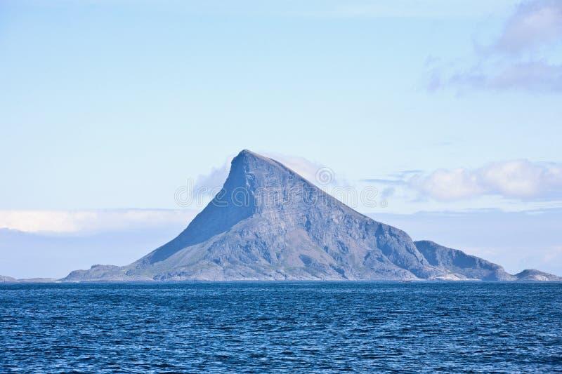 Crête d'île photographie stock