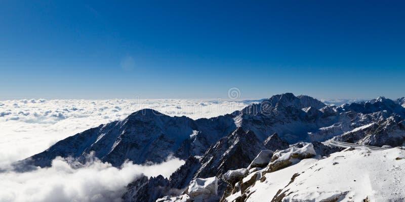 Crête de Gerlach (2655 m) photographie stock