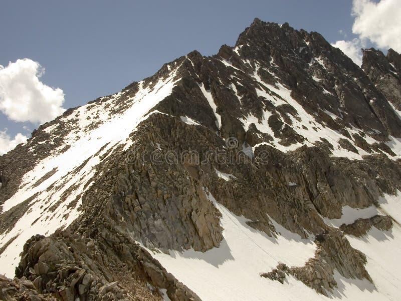 Crête de granit - Montana image libre de droits