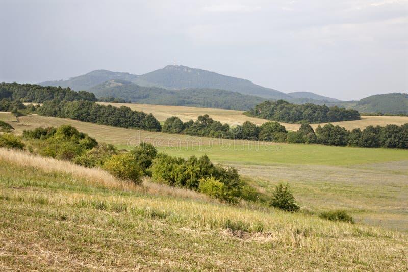 Crête de la Slovaquie - du Sitno photo libre de droits