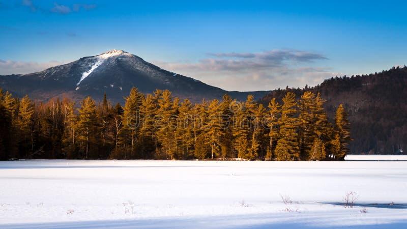 Crête de montagne de Whiteface photo libre de droits