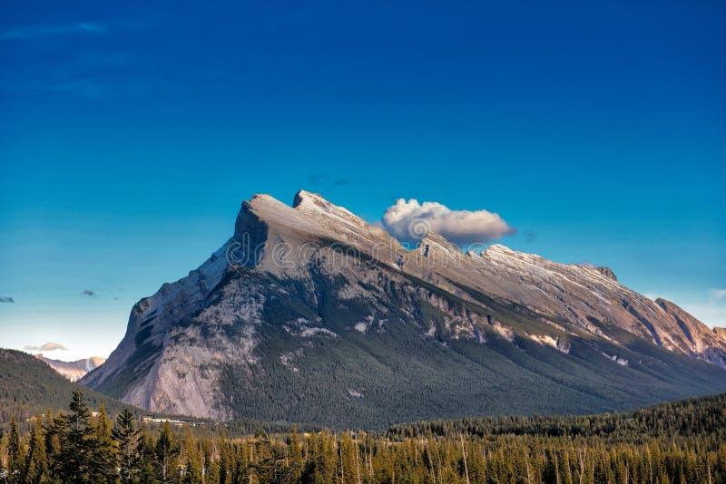 Crête de Sundance, Banff image libre de droits