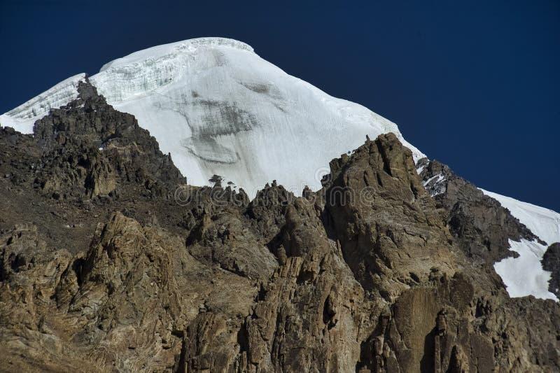 Crête 6400m de Chaskin SAR de Shimshal Karakoram images stock