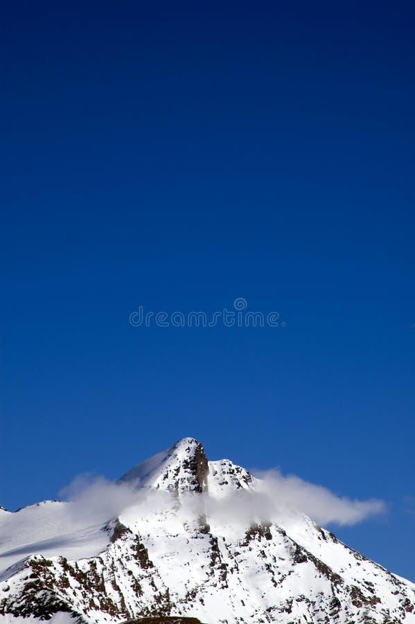 Crête nuageuse photographie stock libre de droits