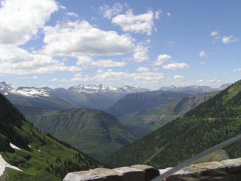 crêtes de glaciers photos stock