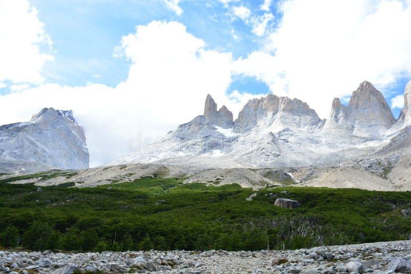 Download Crêtes De Montagne En Parc National De Torres Del Paine, Chili Photo stock - Image du crêtes, hausse: 87701618