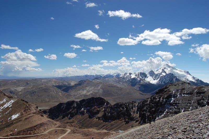 Crêtes des Andes photos libres de droits
