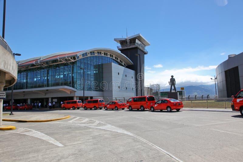 CR do aeroporto de San Jose imagem de stock