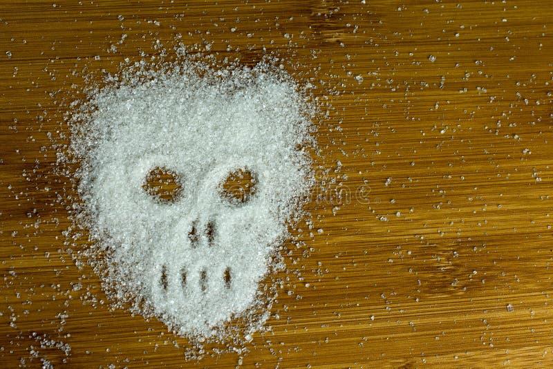Cr?ne de sucre sur la table photos libres de droits