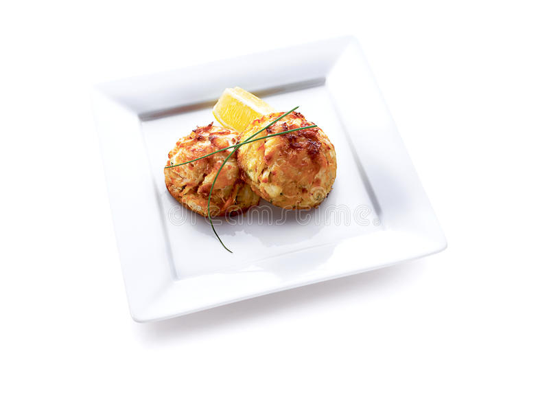 Download Crab cakes stock image. Image of green, dining, crab - 10986529