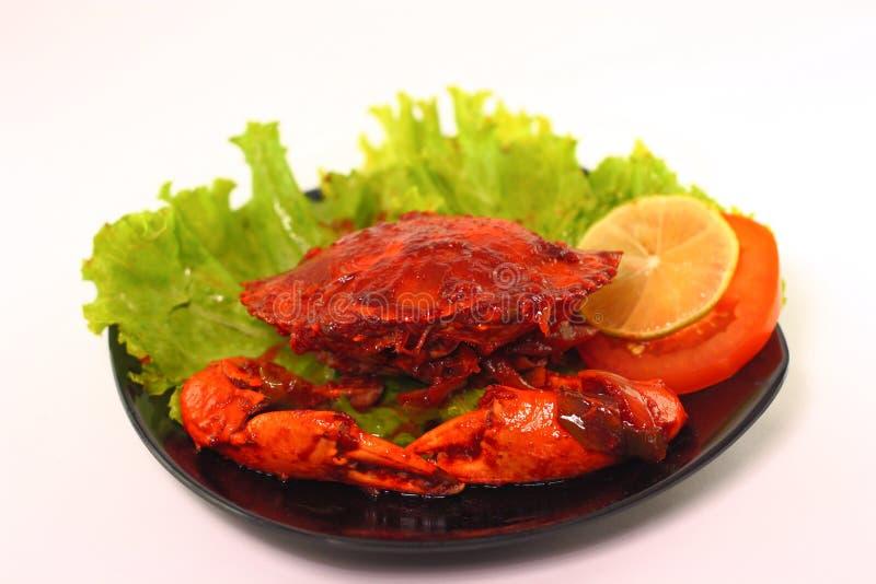 Crab cuisine royalty free stock photo