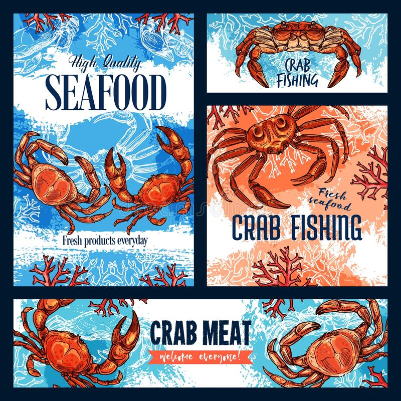 Free Crab Fishing, Seafood And Crustacean Meat Royalty Free Stock Photos - 170175688