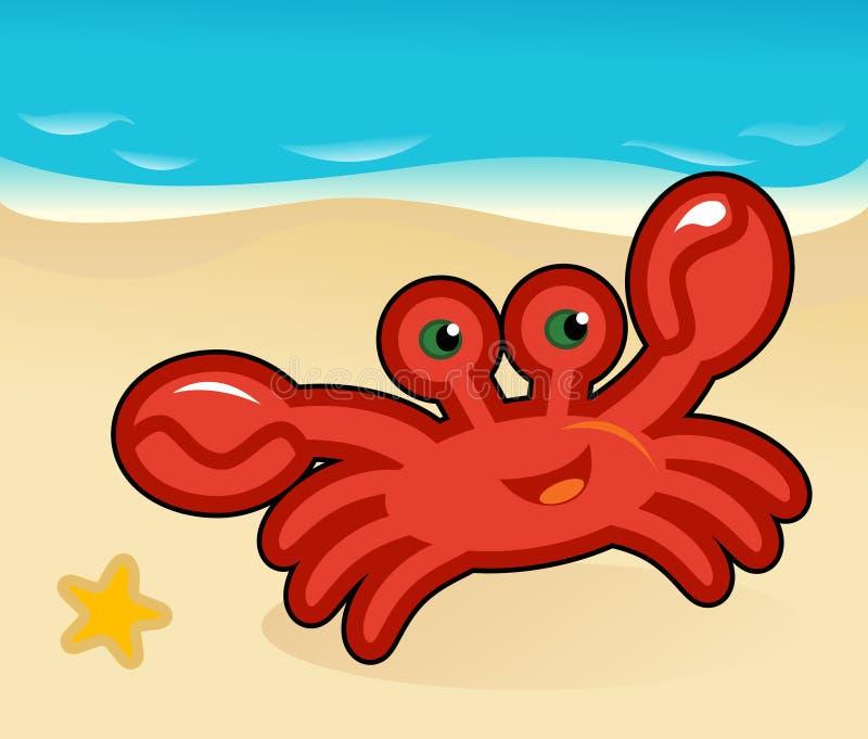 crab komiks. zdjęcie royalty free