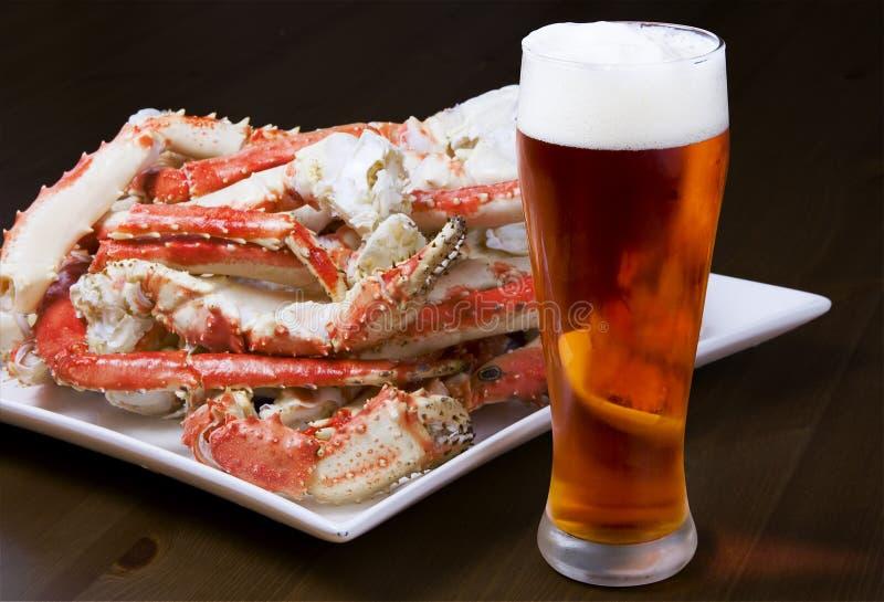 Crab Legs stock image