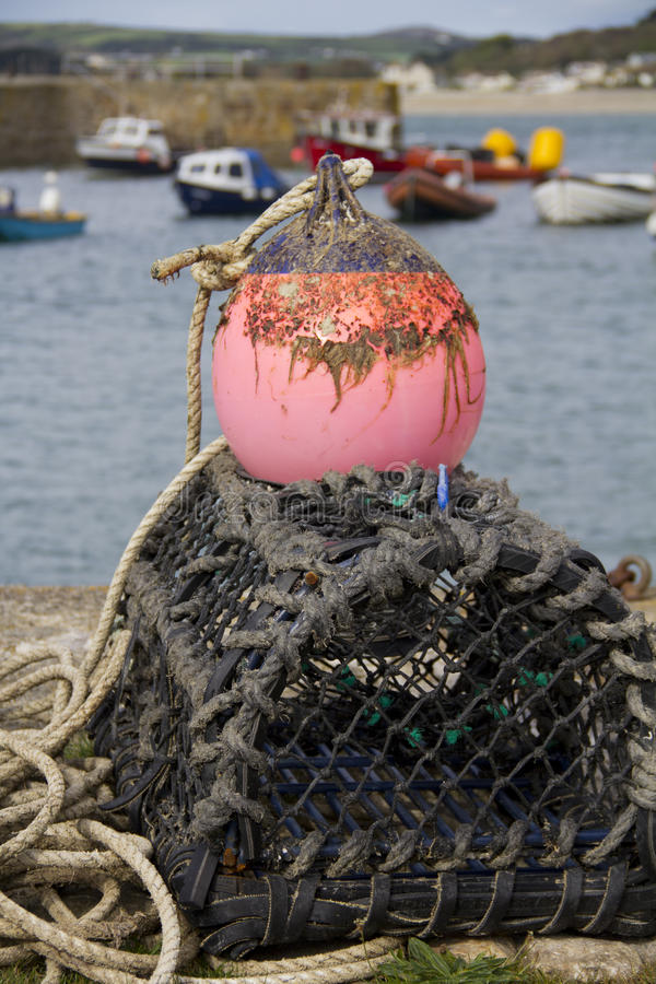 Download Crab And Lobster Pots On The Quayside Stock Photo - Image: 26876240