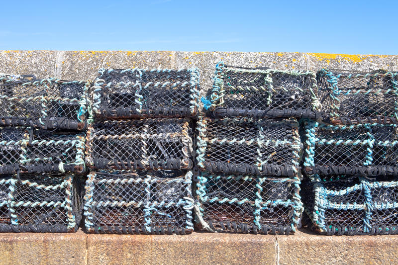 Download Crab nets stock image. Image of stack, store, traps, crab - 20440491