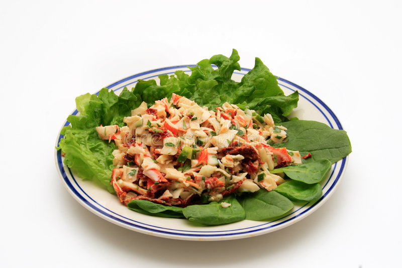 Download Crab Salad stock photo. Image of gourmet, lemon, light - 2314116