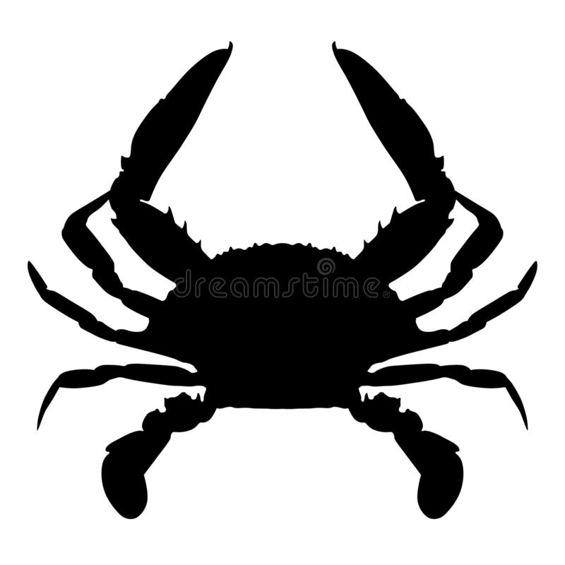 Free Crab Vector Eps Hand Drawn, Vector, Eps, Logo, Icon, Crafteroks, Silhouette Illustration For Different Uses Stock Photo - 146467510