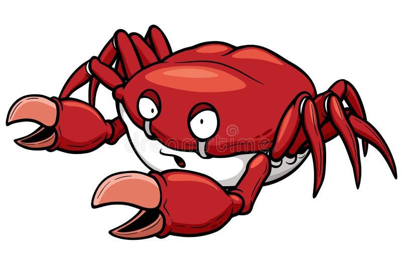 Crabe illustration stock