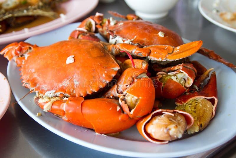 Crabe bouilli photographie stock libre de droits