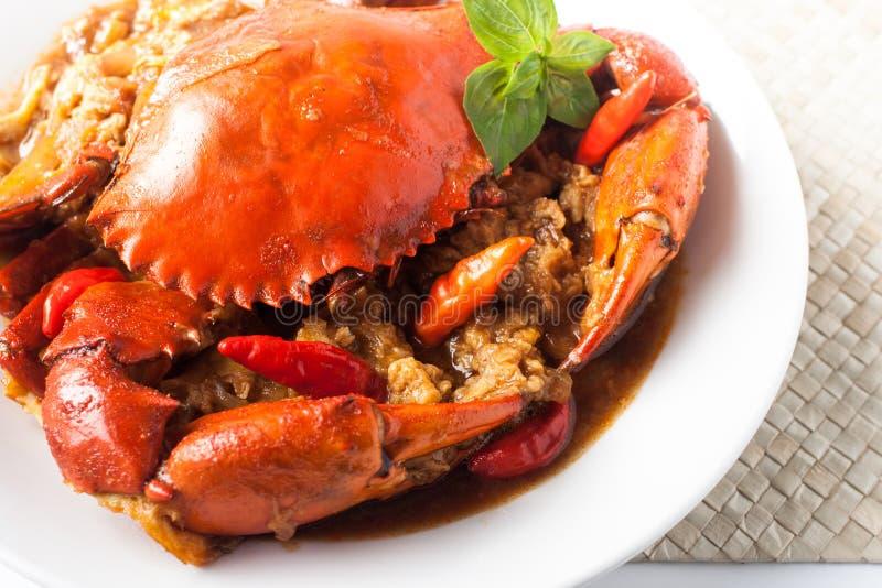 Crabe de /poivron images stock