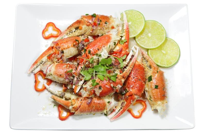 Crabe rôti images libres de droits